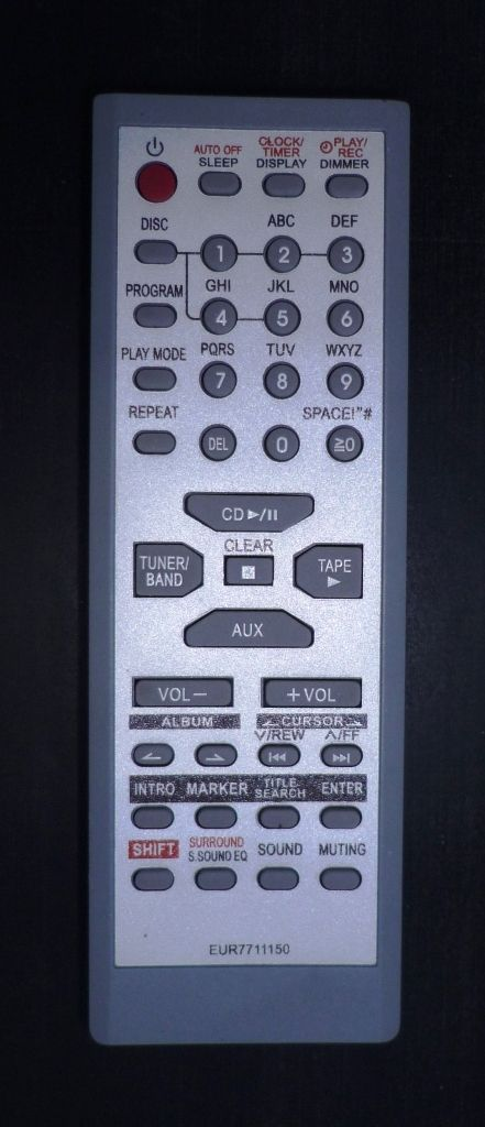 Panasonic EUR7711150 (5disk)