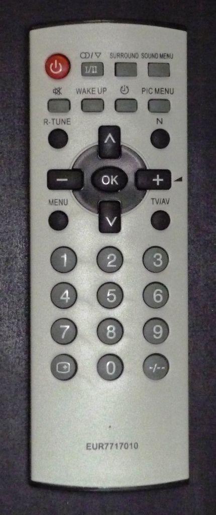 Panasonic EUR7717010 (TV) (surround) (TC-21FG10T, TC-21FJ10T, TC-21FS10T, TC-21FX20TS, TC-21GX20TS, TC-29FG20TU, TC-29FJ20TS)