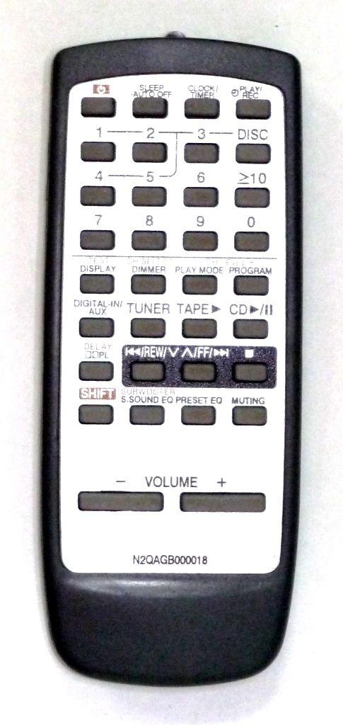 Panasonic N2QAGB000018 (AUX)  (SC-AK600)