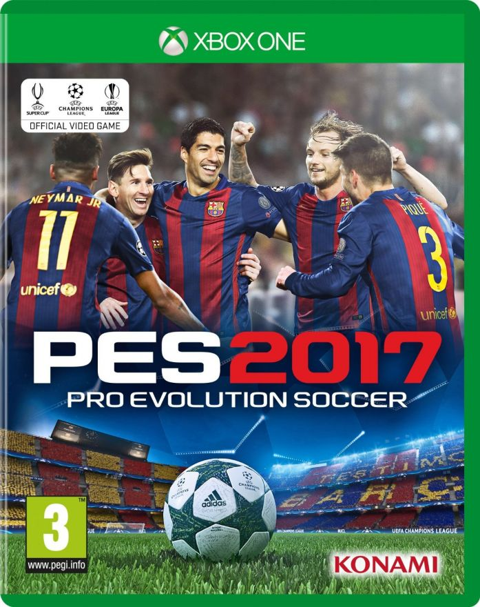 Игра Pro Evolution Soccer 2017 (XBOX ONE)