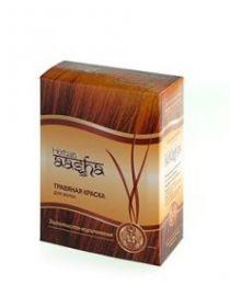Золотисто-коричневая травяная краска для волос Ааша Хербалс (AASHA Herbals) 6 пак по 10г
