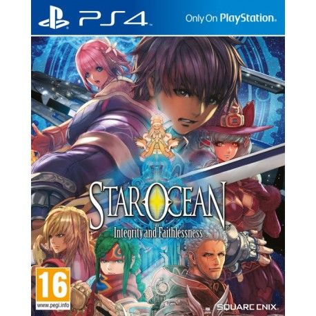 Игра Star Ocean Integrity and Faithlessness (PS4)