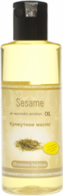«Кунжутное» (сезамовое) масло Косметическая линия «Радж Расаяна», 200мл