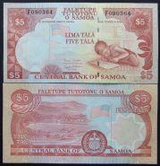 Самоа. 5 тала. 2002. UNC