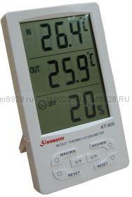 Измеритель влажности КТ-905 с комнатным и уличным термометром