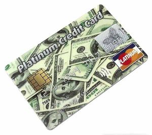 Platinum Credit Card (8Gb доллар)