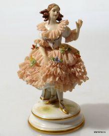 Балерина-кружевница, Muller & Co, Германия.