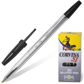 Ручка шариковая (черная) Corvina 51