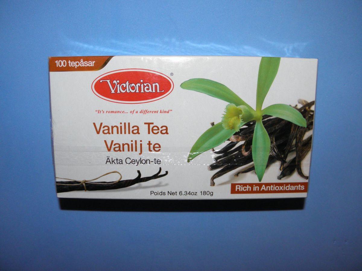 Чай Victorian Vanilla Tea (ванильный) 100 пакетов