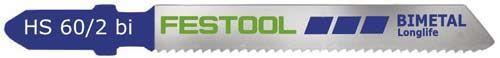 Пилки для лобзика, компл. из 5 шт. HS 60/2 BI/5 Festool