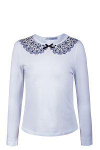 Блузка для девочки из трикотаж