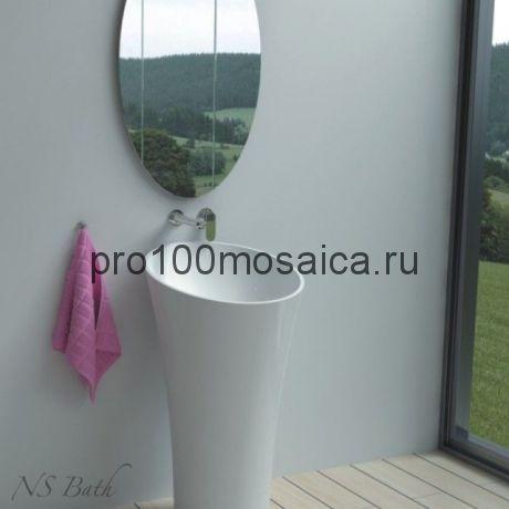 NSF-50000 Раковина из POLYSTONE (акриловый камень) размер,мм: 490*490*900 (NS BATH)