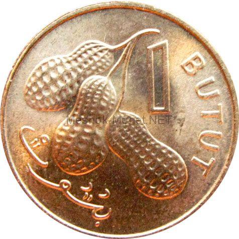 Гамбия 1 бутут 1974 г.