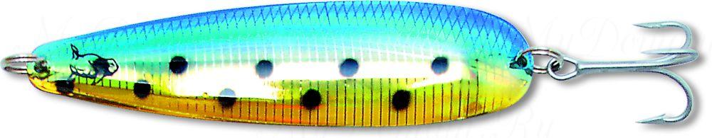 Блесна троллинговая колеблющаяся Rhino Trolling Spoons I модель MAG 115 мм, 16 гр., расцветка: Swedish flag