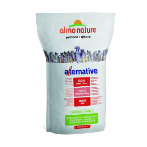 Корм сухой Almo nature Alternative для собак карликовых и мелких пород с ягненком и рисом 3.75кг