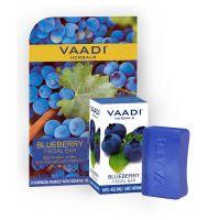 Антивозрастное мыло для лица Черника&Мята Ваади | Vaadi Blueberry Facial Bar with Mint