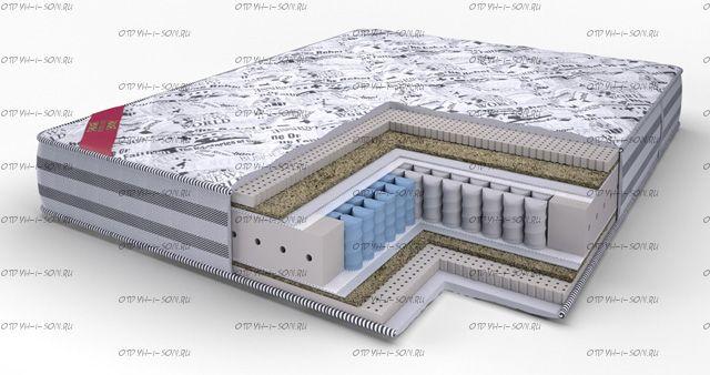 Матрас Lonax Exellent Lux (S1000) подушка в подарок
