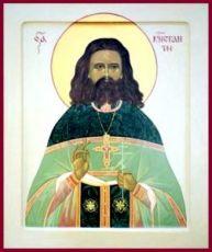 Константин Сухов (рукописная икона)