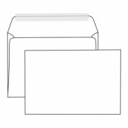 Конверт С5 162*229  белый отрывная лента