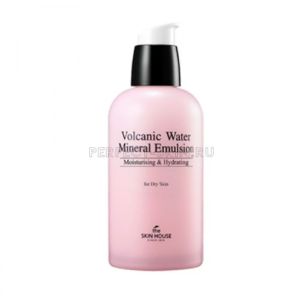 The Skin House Volcanic Water Mineral Emulsion - Питательный лосьон для лица