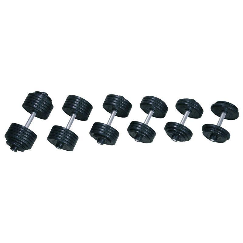 V-sport СТ-550.17 гантель профессиональная 17 кг