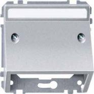 Наклонная накладка (для телекоммуникационной техники) Merten System Design Алюминий