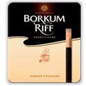 Сигариллы Borkum Riff Pure Blend (10 шт)