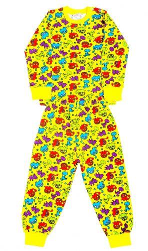 Пижама детская  с начесом  (2-6лет)№FU258