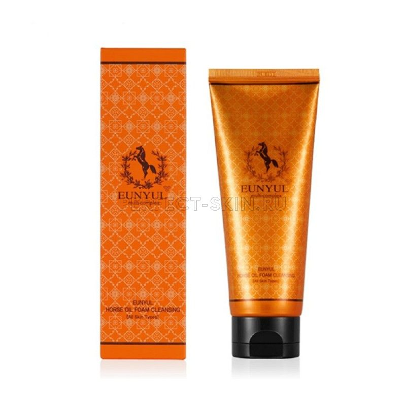 Eunyul Horse Oil Foam Cleanser
