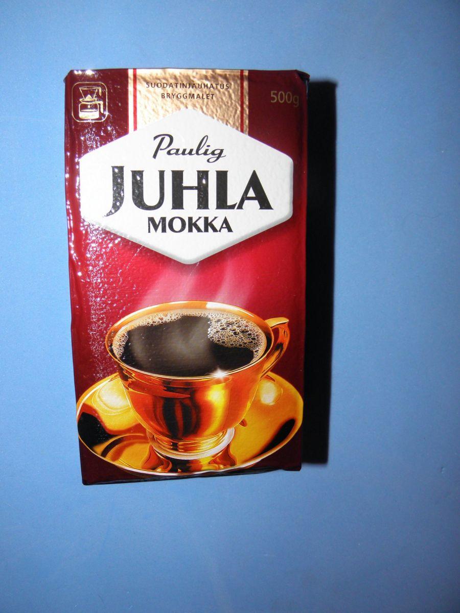 Кофе молотый Paulig Juhla Mokka (1) 500г