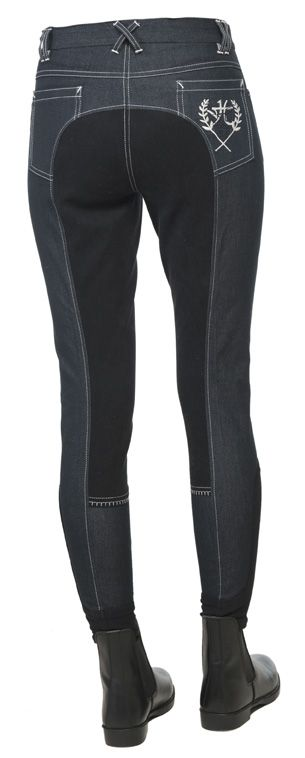 """бриджи джинсовые """"Horse Comfort"""" с полной леей, 36 размер"""