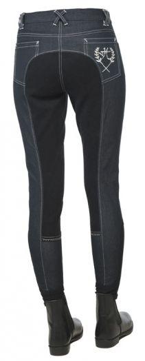 """бриджи джинсовые """"Horse Comfort"""" с полной леей, 34-46 размер"""
