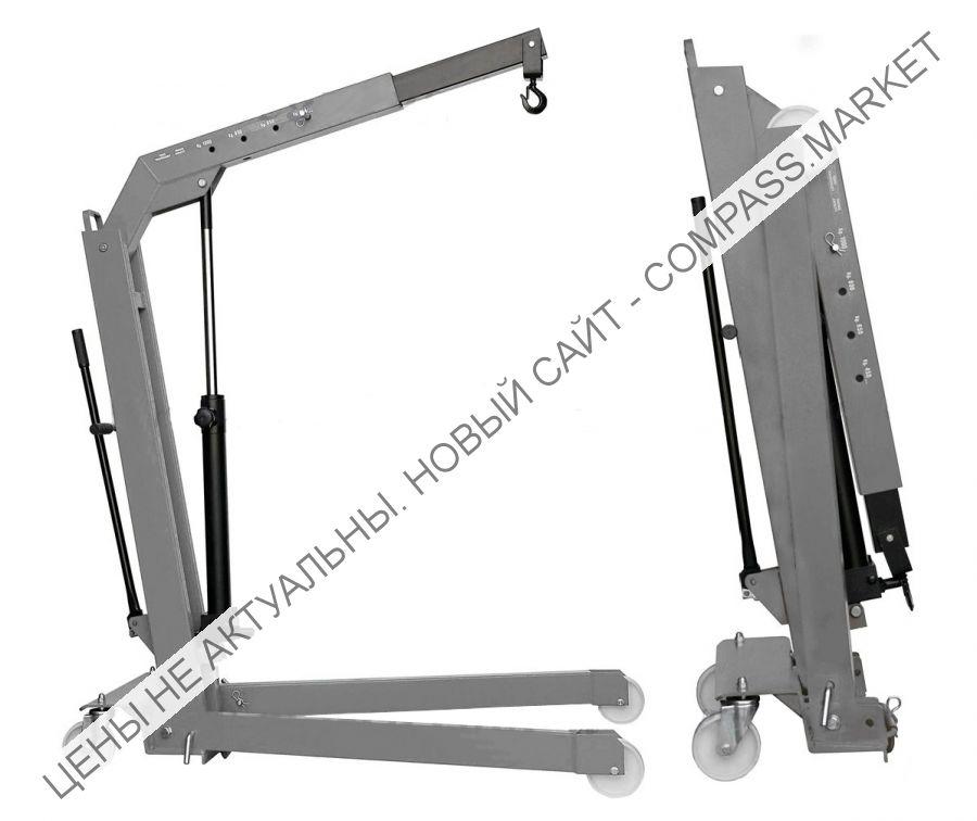 Кран складной г/п 1000 кг. однотактный Werther-OMA