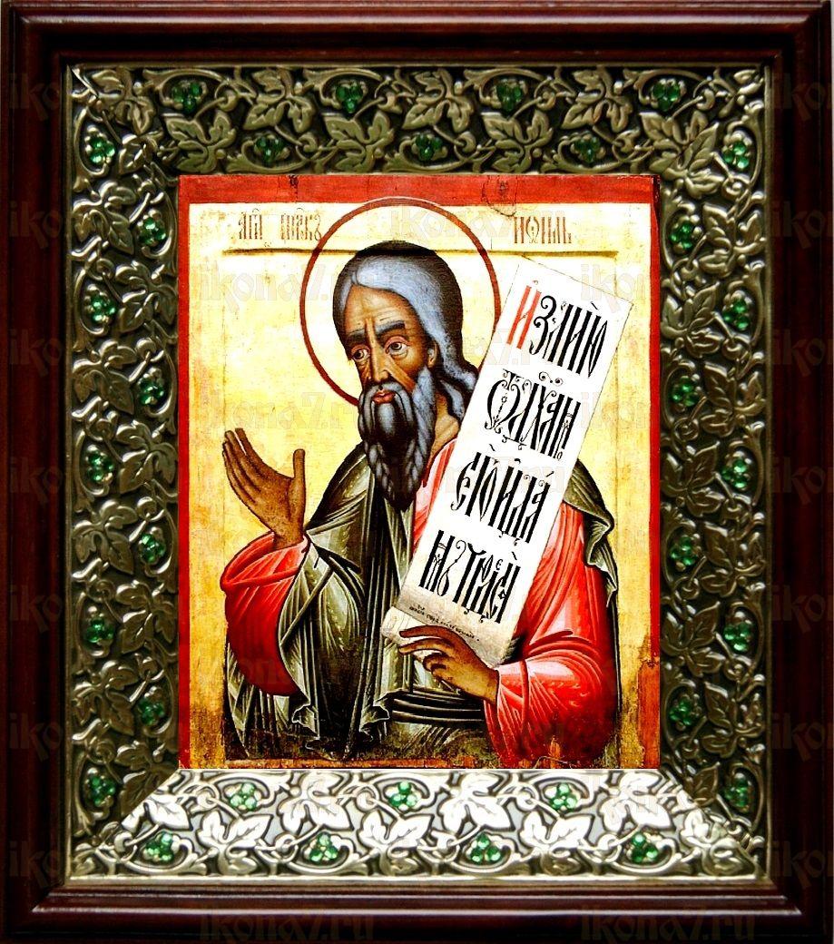 Пророк Иоиль (21х24), киот со стразами