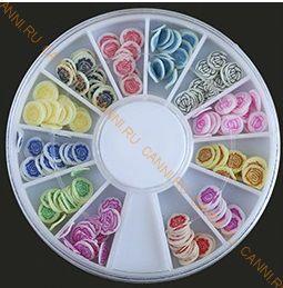 Украшение для дизайна ногтей ФИМО Цветы №2