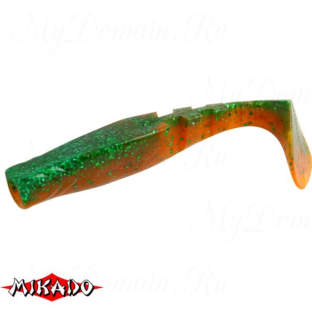 """Виброхвост Mikado FISHUNTER 2 """"съедобная резина"""" 5.5 см. / 312  уп.=5 шт., упак"""