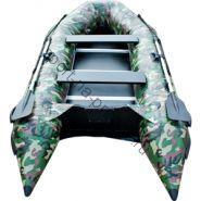 Лодка JET! надувная, модель SYDNEY 430 PL, цвет зеленый камуфляж