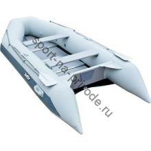Лодка JET! надувная, модель SYDNEY 430 PL, цвет серый