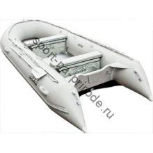 Лодка HDX надувная, модель OXYGEN 390 AL, цвет серый