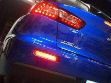 Катафоты заднего бампера, LED светодиодные красные