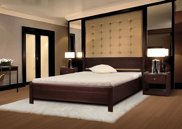 Кровать Руно 3 из массива ясеня | Диамант-М