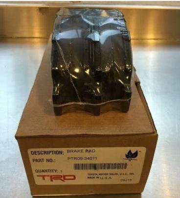 Тормозные колодки передние TRD Toyota Tundra 2007