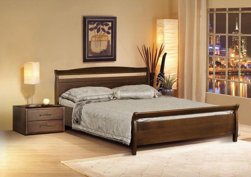 Кровать Руно 4 из массива бука | Диамант-М