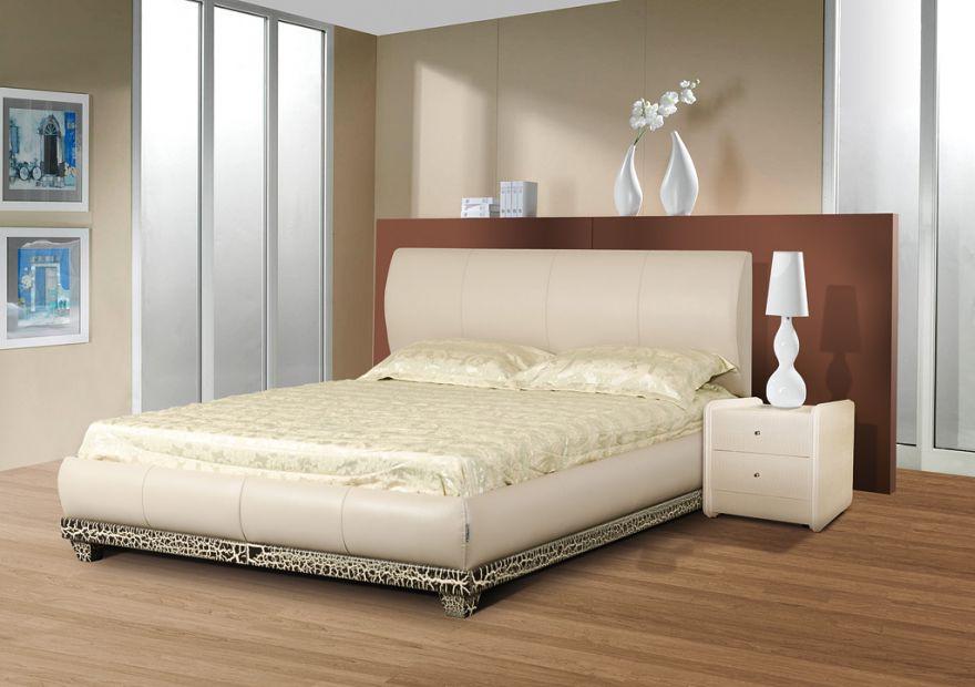 Кровать Люксор 1К с бельевым ящиком | Диамант-М