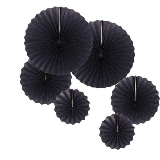 Набор из 6 фантов Чёрный