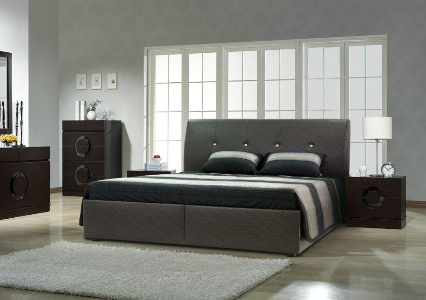 Кровать Люксор 3К с бельевым ящиком | Диамант-М