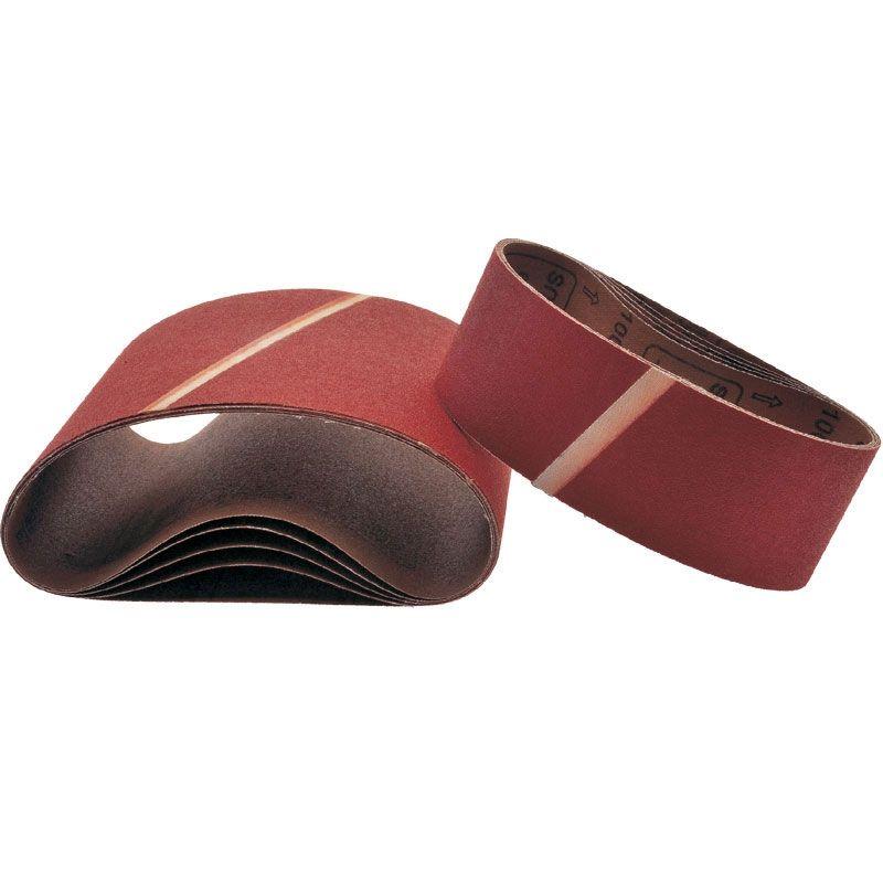 Smirdex Р80 Лента шлифовальная бесконечная SMIRDEX Cloth 630, 75мм x 457мм, (упаковка 5 шт.)