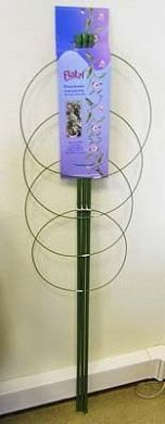 Поддержка для цветов металлическая круглая  (длина 45см)
