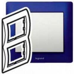 Рамка Legrand Galea Life 2 поста верт. Magic Blue (арт.771916)