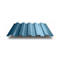 Профильный лист НС-40 оцинкованный с полимерным покрытием (Профнастил НС40-1000) длина 6,0 м, толщина 0,54 мм, RAL